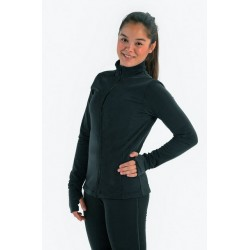 Veste patinage noir IM 6414