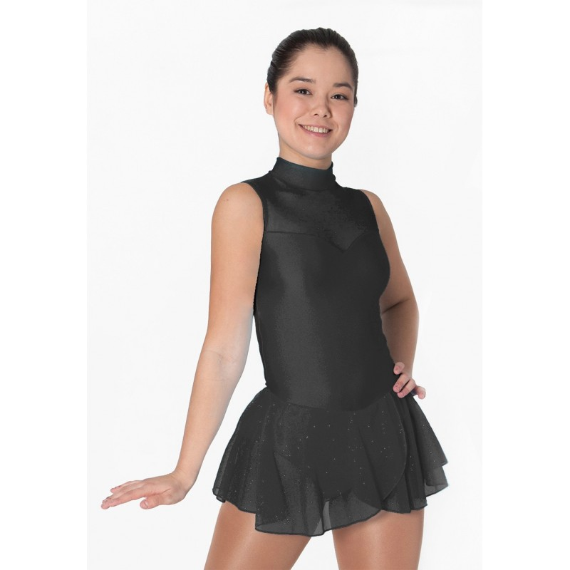 Robe patinage IM31477 sans manches