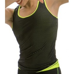 TANK TOP COLOR LINE jaune