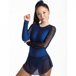 Robe patinage  IM31527 navy