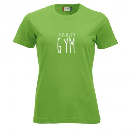 T-shirt LADIES GYM 029361