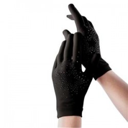 Gants patinage strass IM 9018