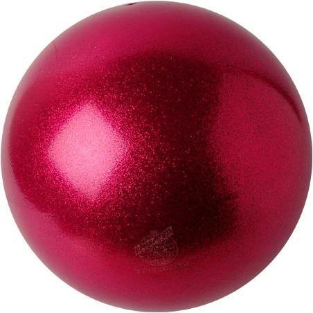 Bälle gelb-orange-pink Farben glitzernd HV