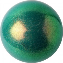 Bälle blau-grün-lila Farben glitzernd HV