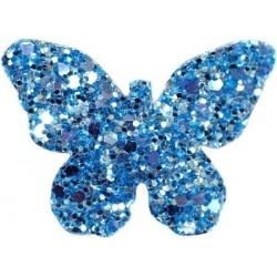 Barrette BUTTERFLY azzurro