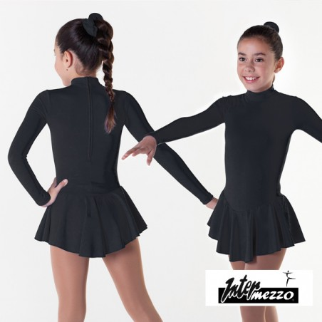 Robe patinage IM31414 noir