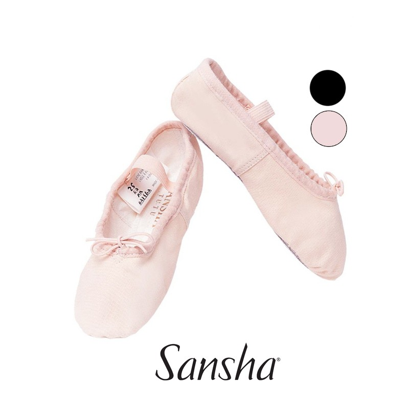 4C TUTU Ballettschläppchen SANSHA