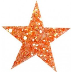 Haarspange STARLIGHT orange