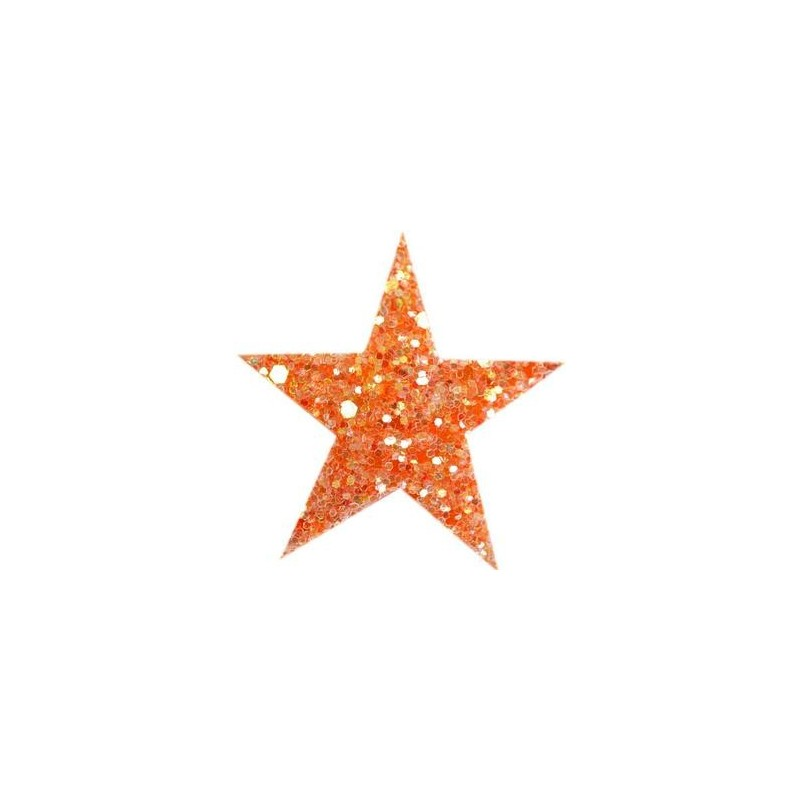 Haarspange STARLIGHT orange