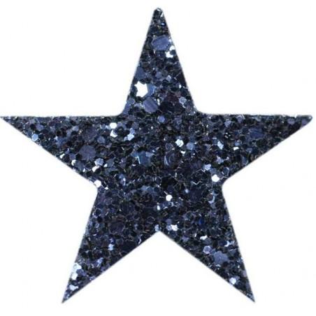 Barrette STARLIGHT bleu nuit