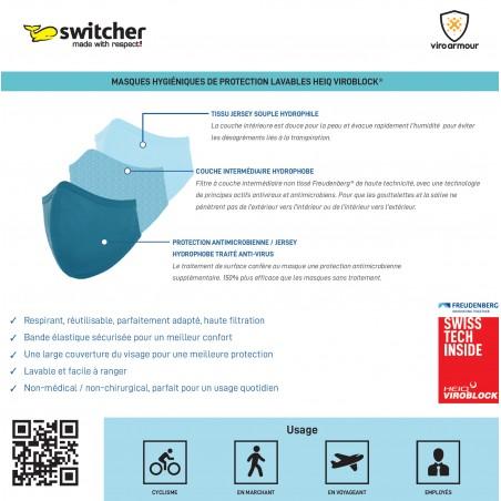 Switcher Viroarmour Maske Mund Nase Flexi