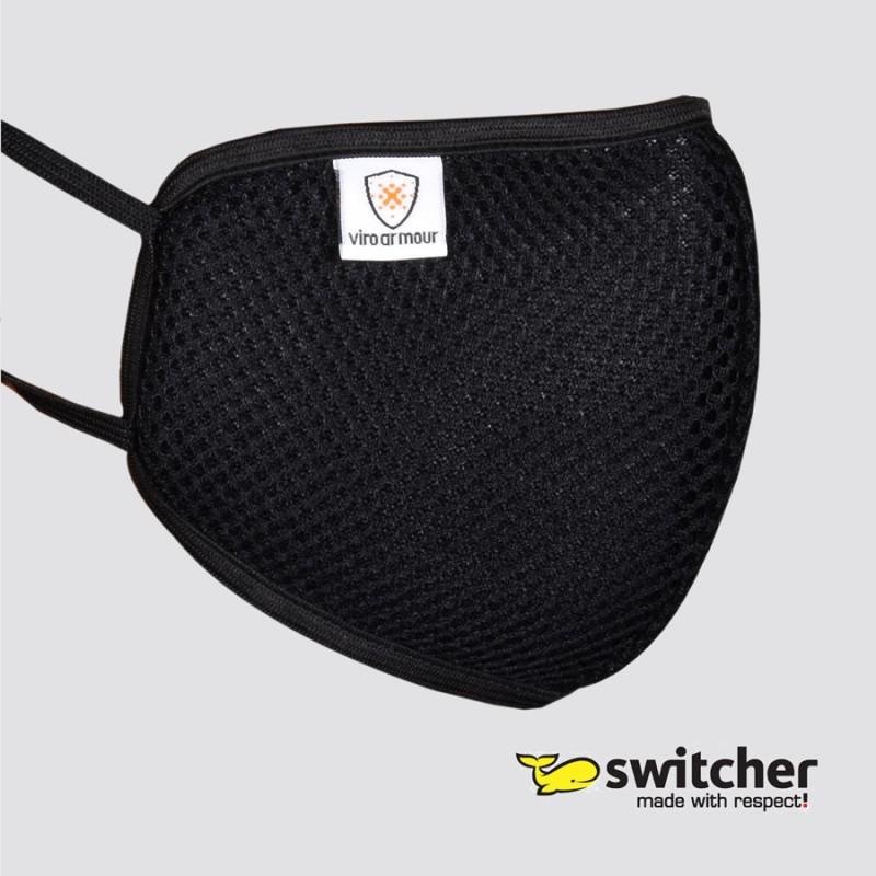 Switcher Viroarmour Maske Mund Nase Mesh