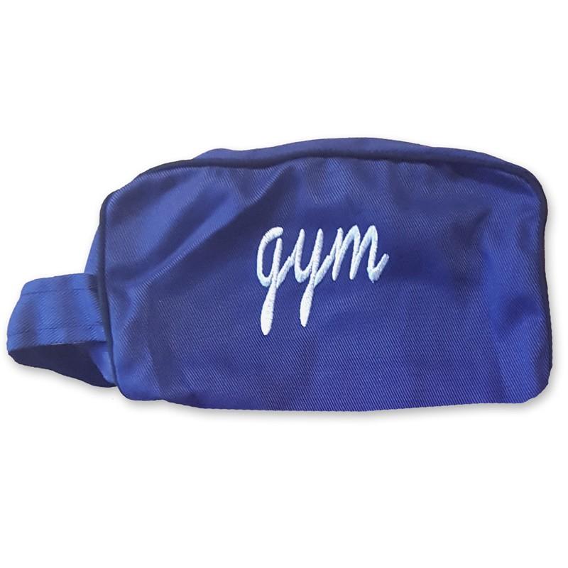 trousse - gym bleu