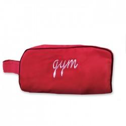 trousse - gym rouge