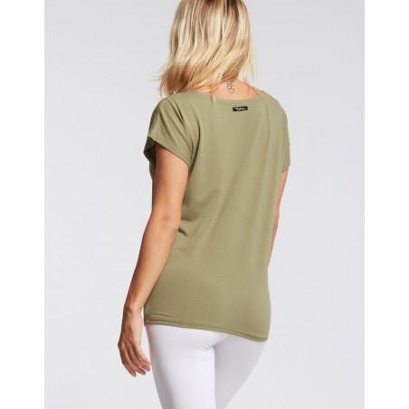 t-shirt olive AVA BALANCE