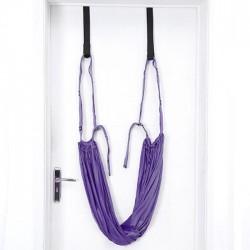 sangle de yoga violet