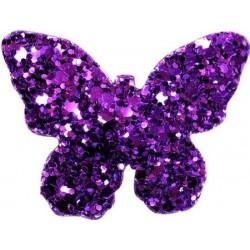 Barrette BUTTERFLY violet
