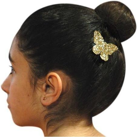 Haarspange HEART hellrosa