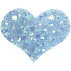 Haarspange HEART celeste