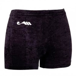Short velours noir