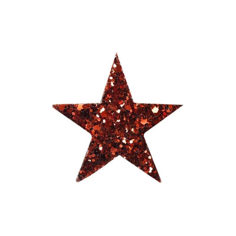 Barrette STARLIGHT rouge