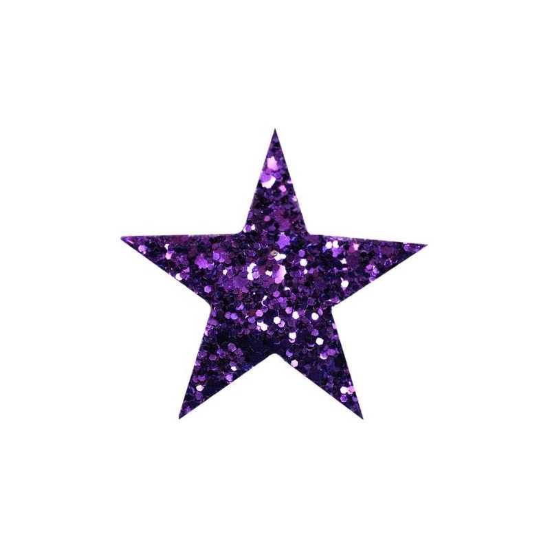 Haarspange STARLIGHT violett