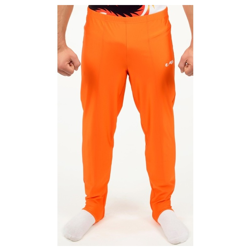72 Kunstturnhose Orange