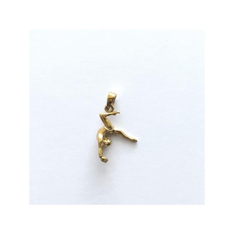 Pendentif gymnaste or 2995/1